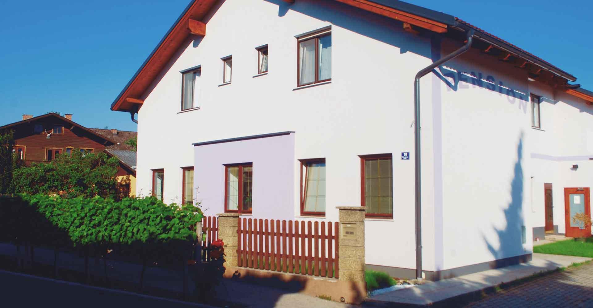 Pension Steindl Unterkunft Tulln Hausansicht